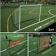 Buy Quickplay Spot Elite 8' X 6' Combo Goal & Rebounder Online at johnlewis.com
