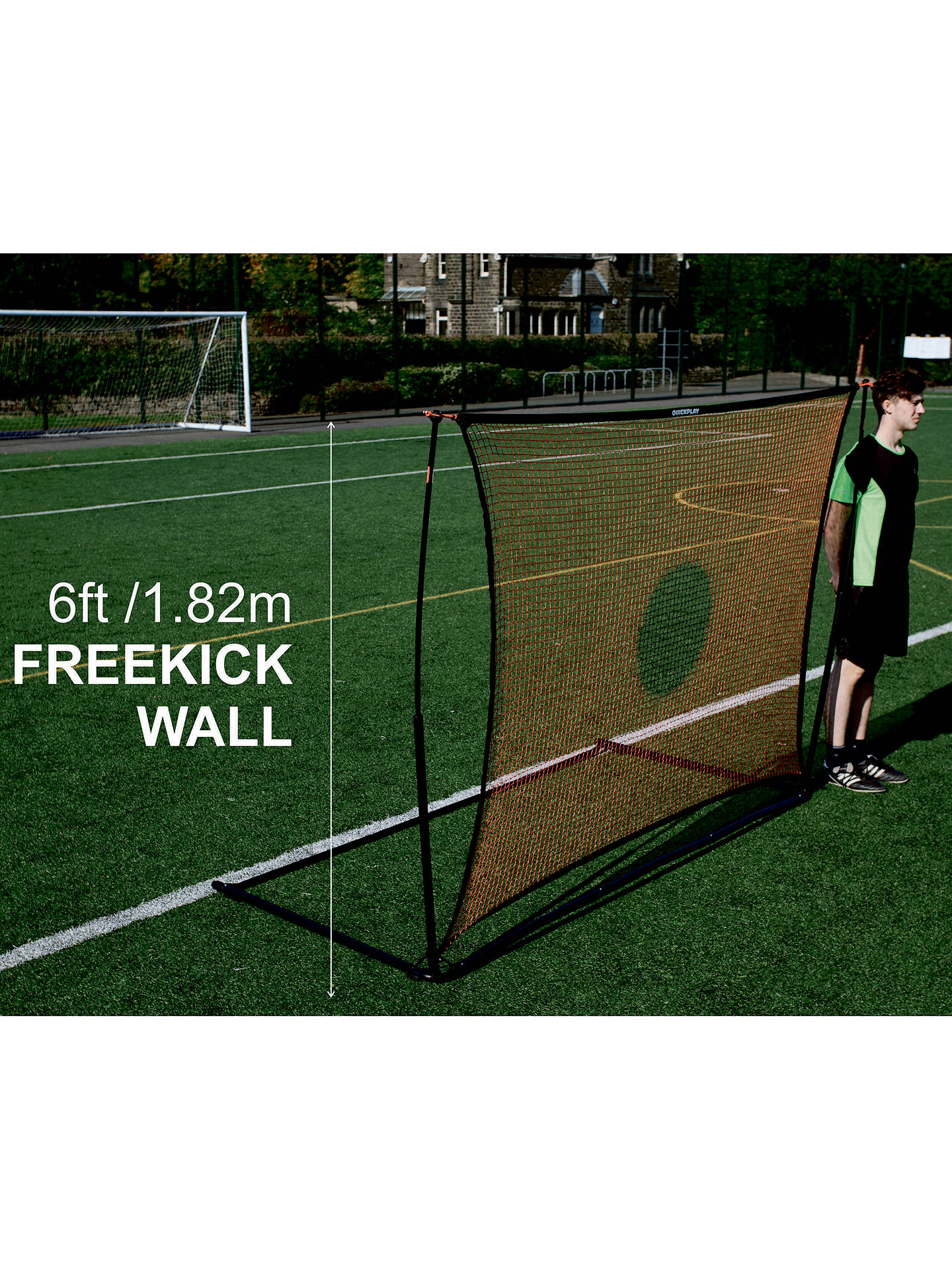 BuyQuickplay Spot Elite 8  X 6  Combo Goal   Rebounder Online at johnlewis. 11ac77ac7a6e