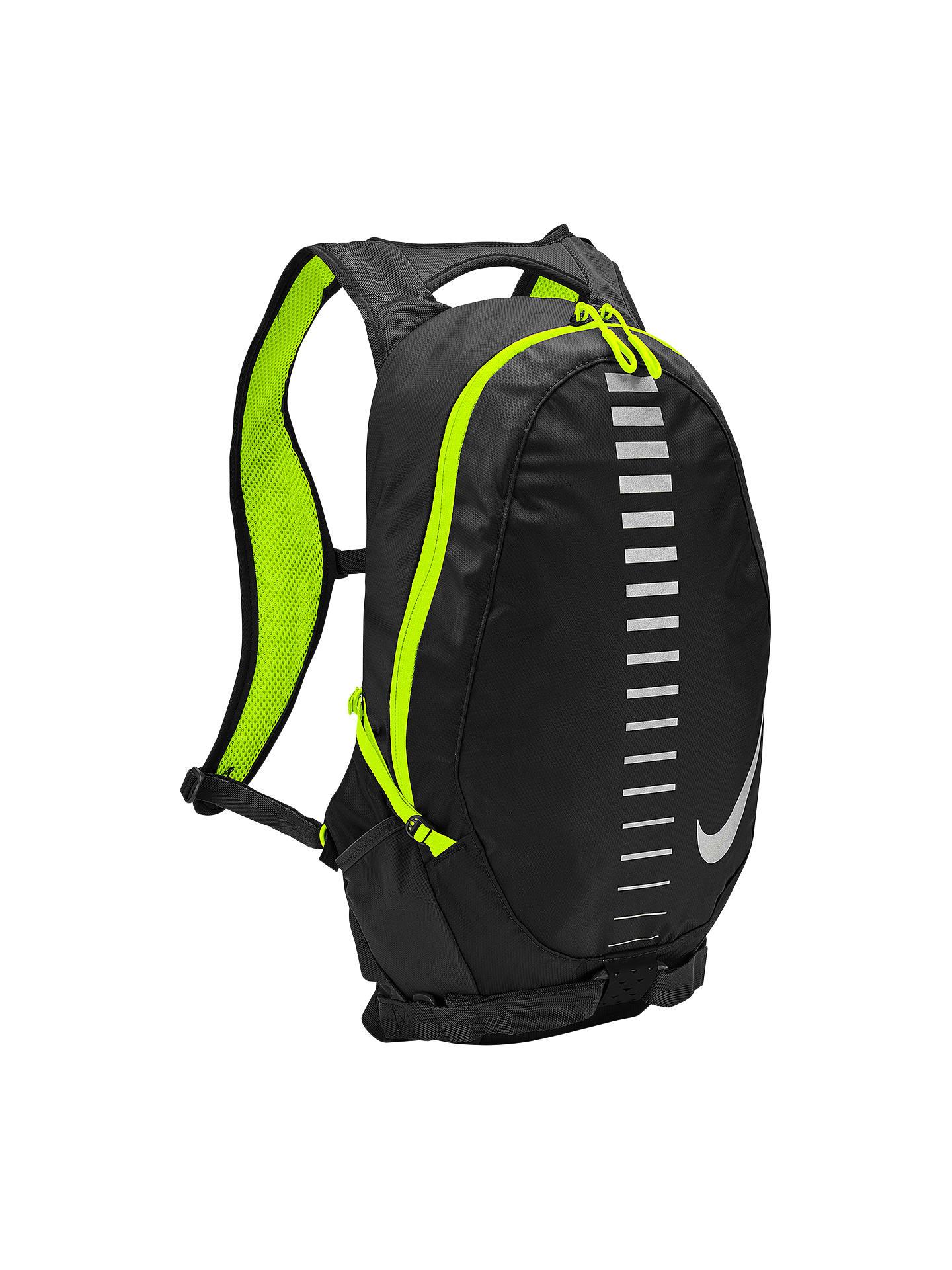 651225d62c5 Buy Nike Run Commuter Backpack, Black/Volt/Silver Online at johnlewis.com  ...