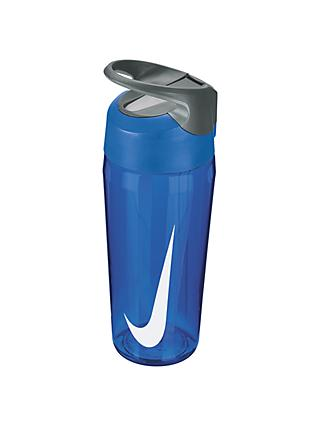Nike 455ml Hypercharge Straw Waterbottle, Game Royal/Cool Grey/White