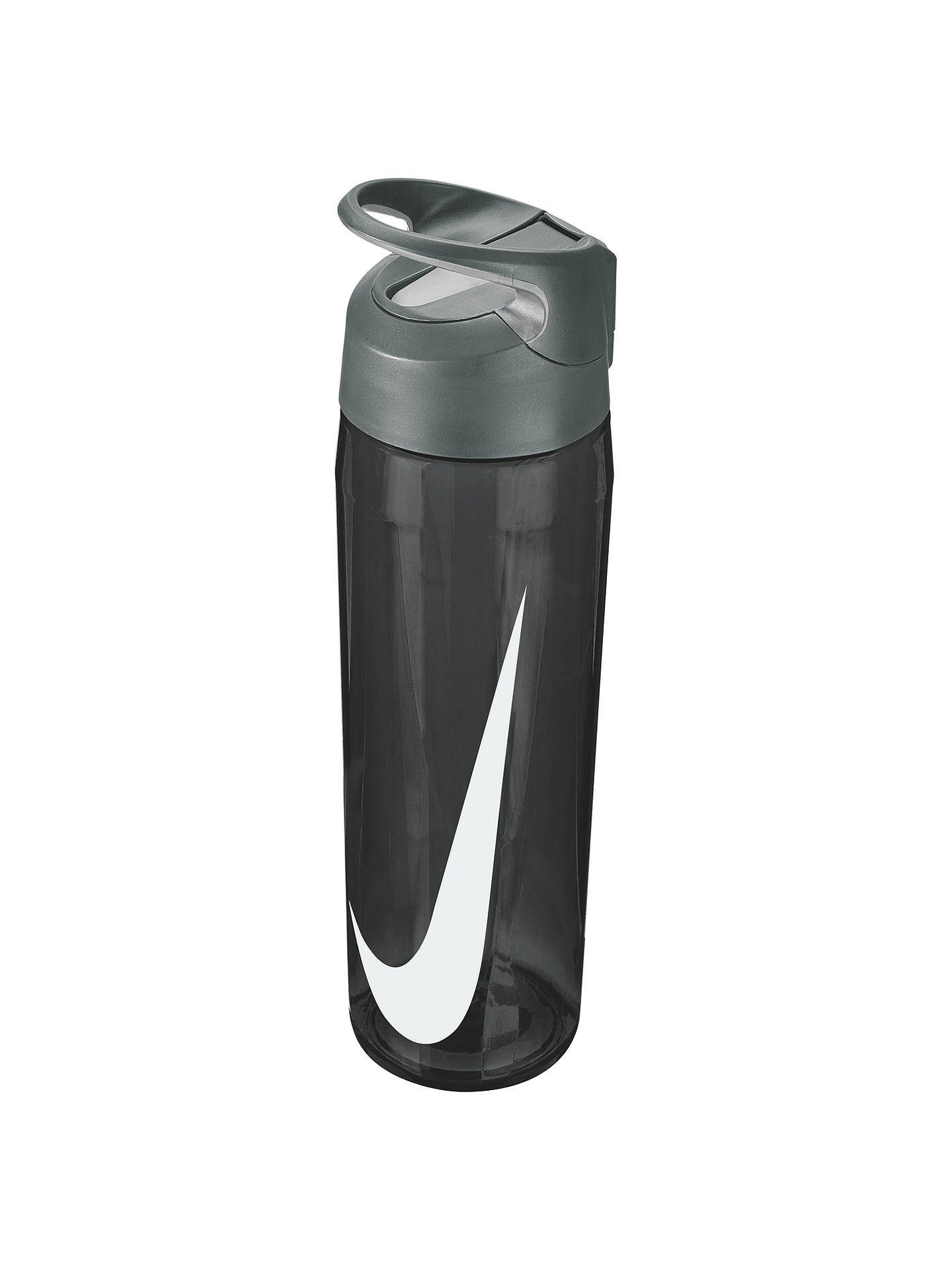 pretty nice 13bdf 4163b Buy Nike 682ml Hypercharge Straw Waterbottle, Anthracite Cool Grey White  Online at johnlewis ...