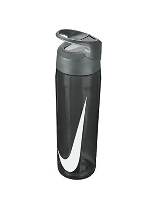 Nike 682ml Hypercharge Straw Waterbottle, Anthracite/Cool Grey/White