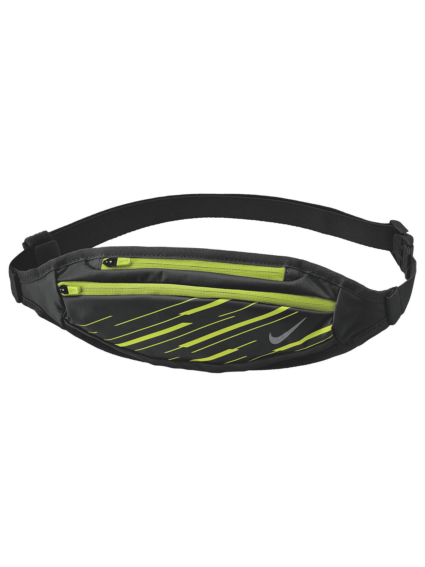 buy popular e908d 1549d Buy Nike Capacity Waistpack, Black Volt Silver Online at johnlewis.com