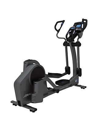 Life Fitness E5 Adjustable-Stride Elliptical Cross Trainer with Go Console