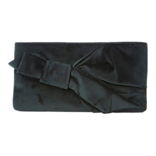 Buy Coast Azalea Velvet Bow Bag, Enchanted Forest Online at johnlewis.com