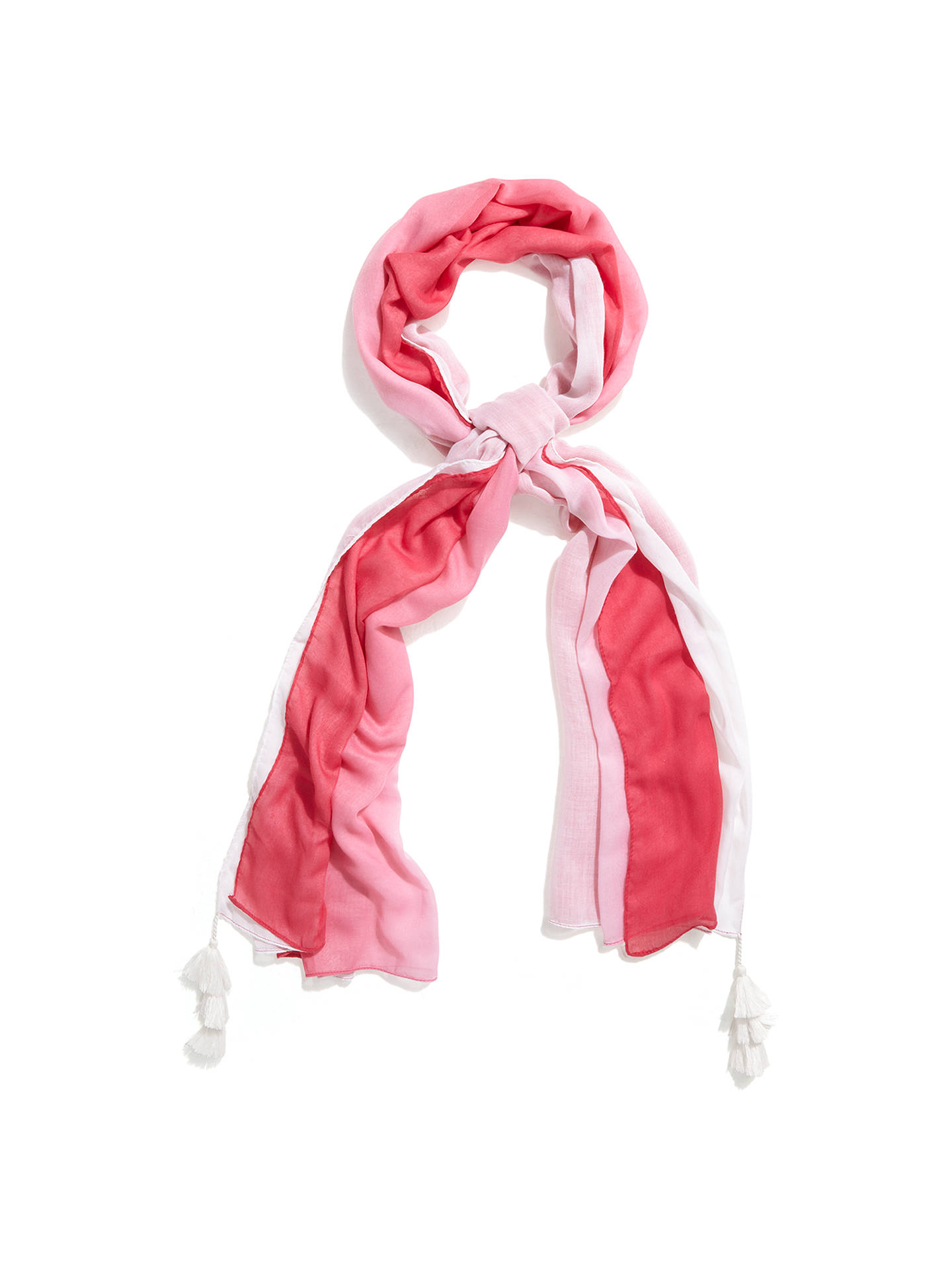 BuyPhase Eight Lulu Ombre Sarong, Pink/White Online at johnlewis.com
