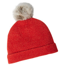 Buy White Stuff Riley Ribbed Beanie Hat Online at johnlewis.com