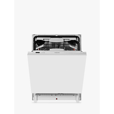 Hotpoint HIC3C26 Integrated Dishwasher, White