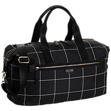 Buy Jem + Bea Edie Weekender Changing Bag, Black Online at johnlewis.com