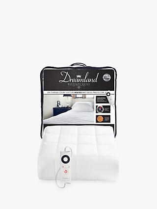 Dreamland Cotton Heated Mattress Protector