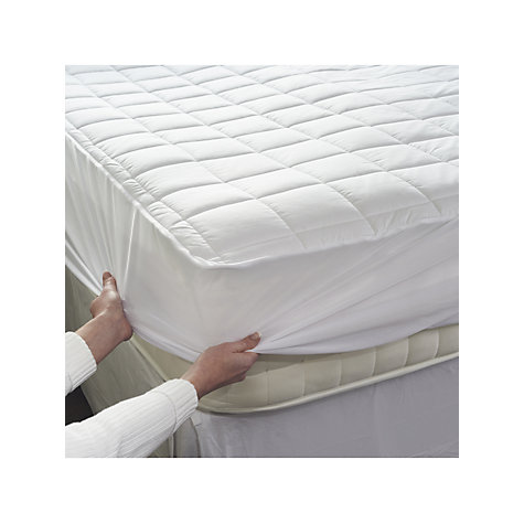 Buy Dreamland Cotton Heated Mattress Protector Online at johnlewis.com