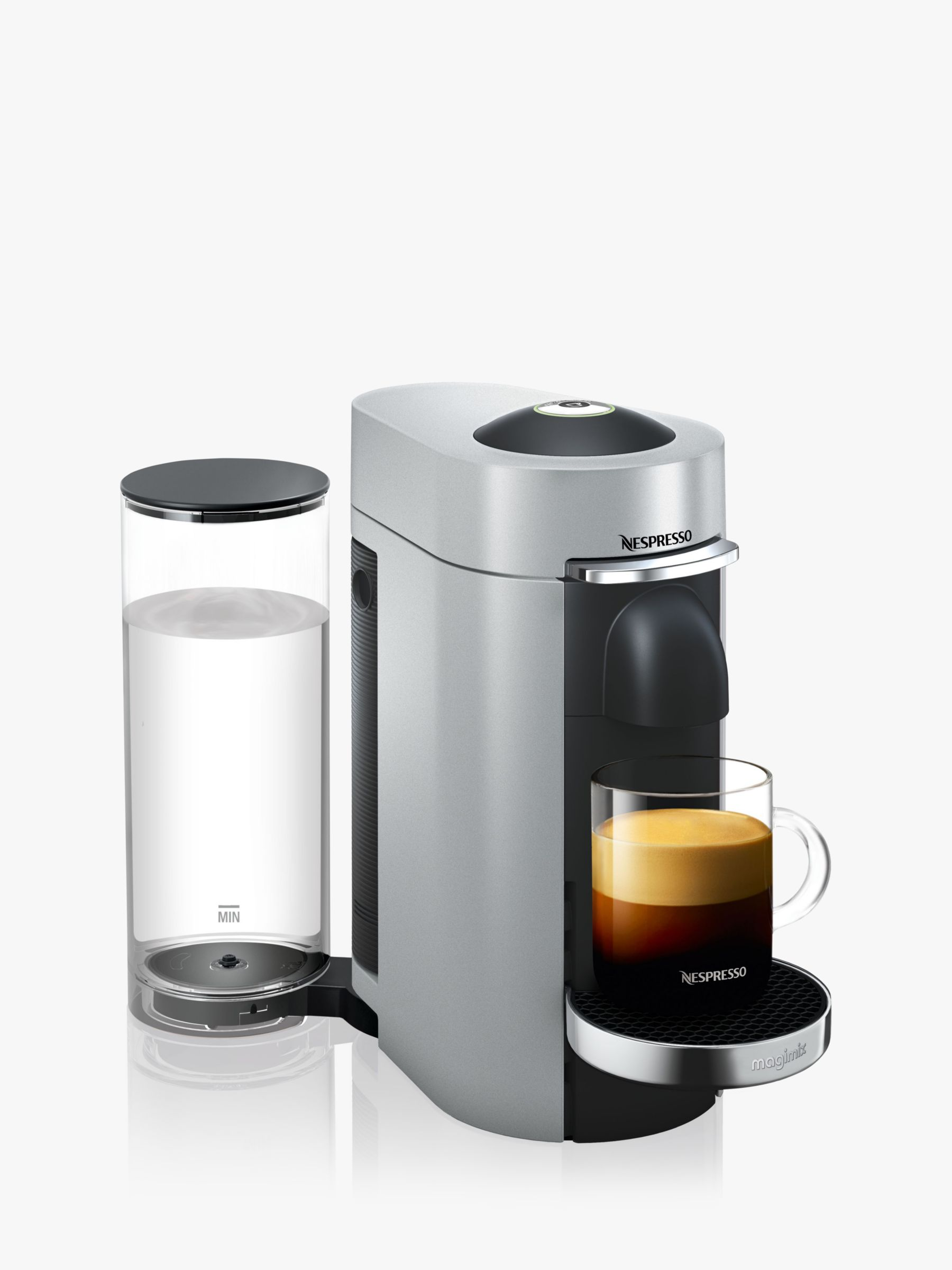 nespresso vertuo plus coffee machine by magimix bluewater. Black Bedroom Furniture Sets. Home Design Ideas