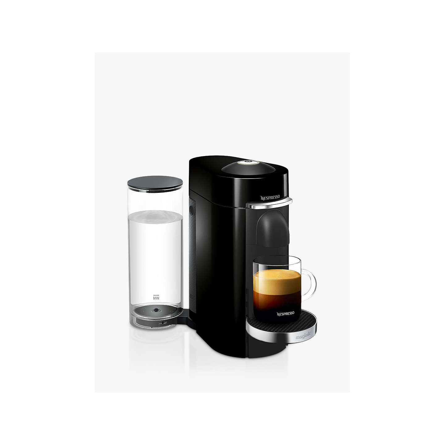 nespresso vertuo plus coffee machine by magimix at john lewis. Black Bedroom Furniture Sets. Home Design Ideas