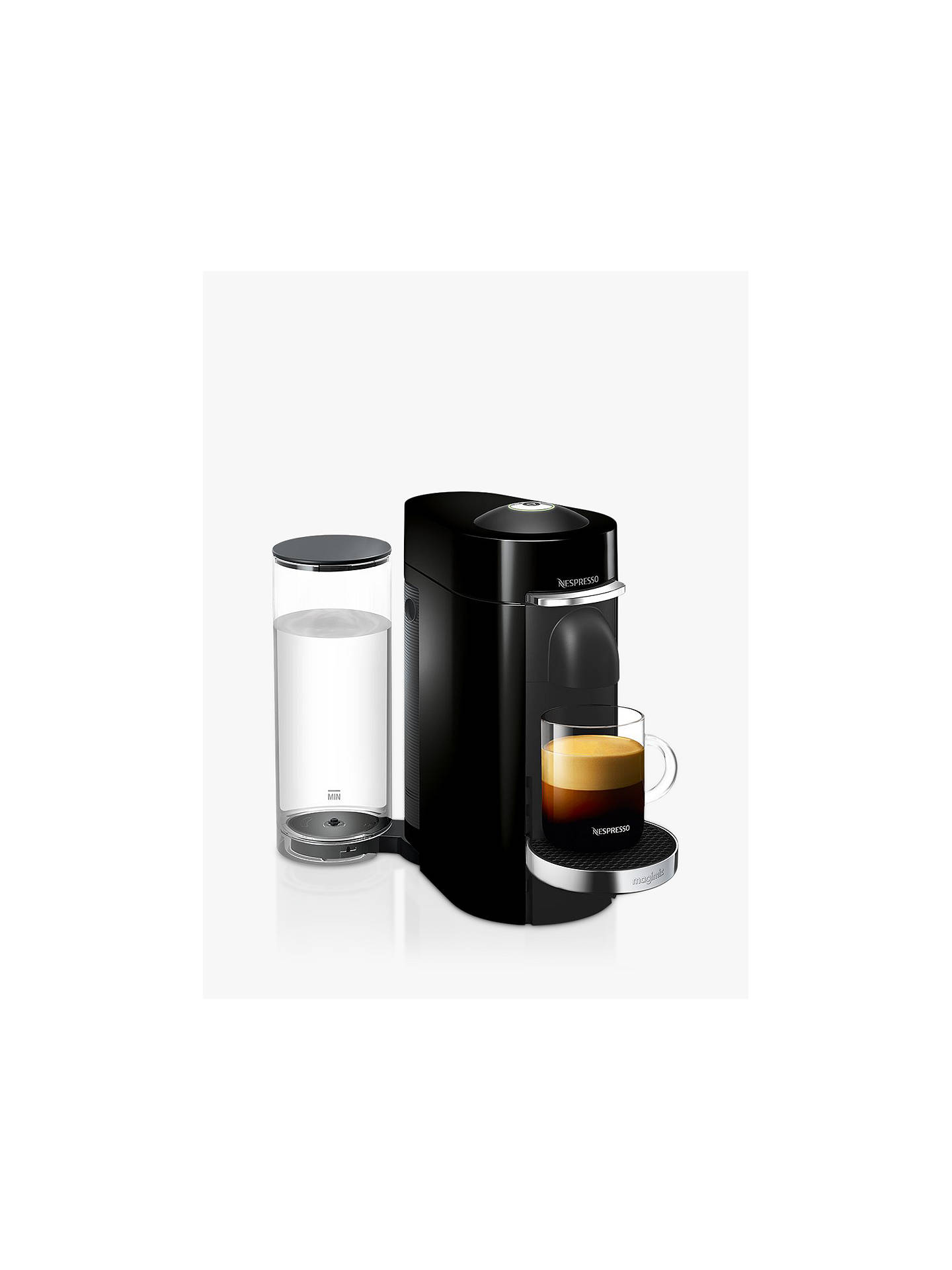 nespresso vertuo plus coffee machine by magimix at john lewis partners. Black Bedroom Furniture Sets. Home Design Ideas