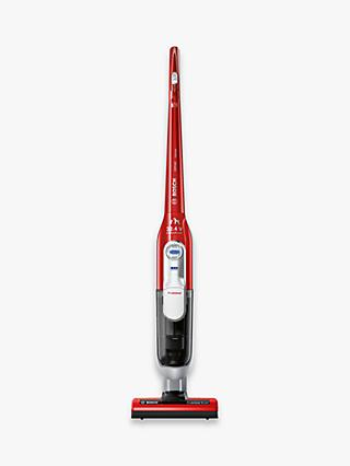 Bosch BCH7PETGB Ultimate Pet Cordless Upright Vacuum Cleaner, Red