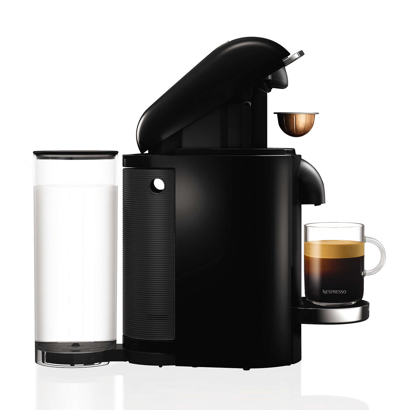 nespresso vertuo plus coffee machine by krups at john lewis. Black Bedroom Furniture Sets. Home Design Ideas