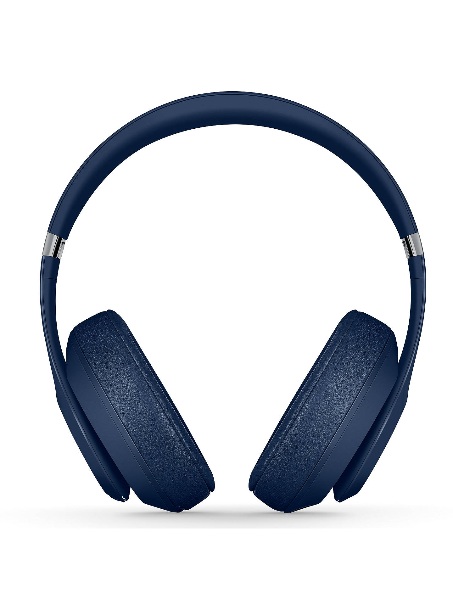 BuyBeats Studio³  Wireless Bluetooth Over-Ear Headphones with Pure Adaptive Noise Cancelling & Mic/Remote, Blue Online at johnlewis.com