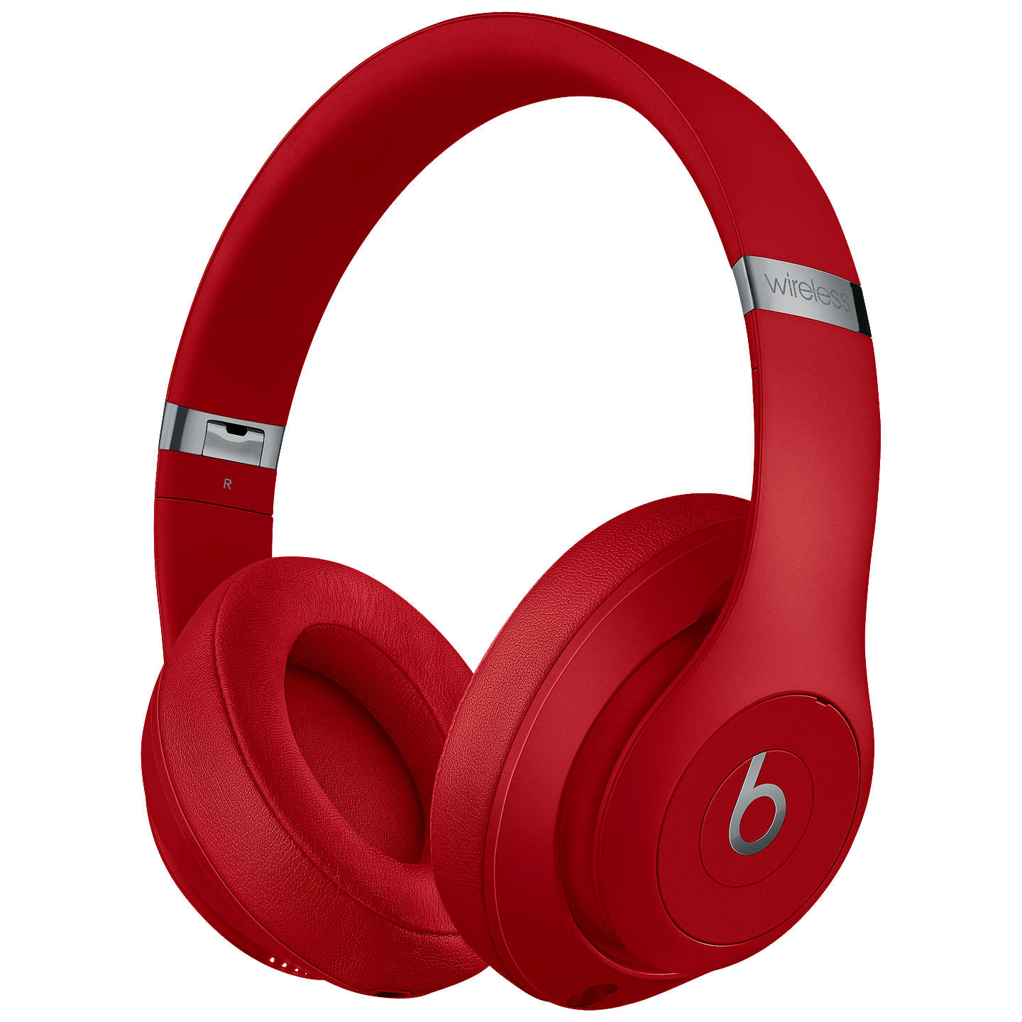 BuyBeats Studio³  Wireless Bluetooth Over-Ear Headphones with Pure Adaptive Noise Cancelling & Mic/Remote, Red Online at johnlewis.com