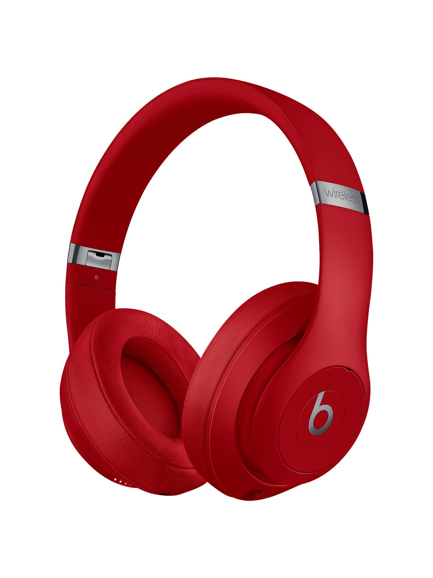 Buy Beats Studio³  Wireless Bluetooth Over-Ear Headphones with Pure Adaptive Noise Cancelling & Mic/Remote, Red Online at johnlewis.com