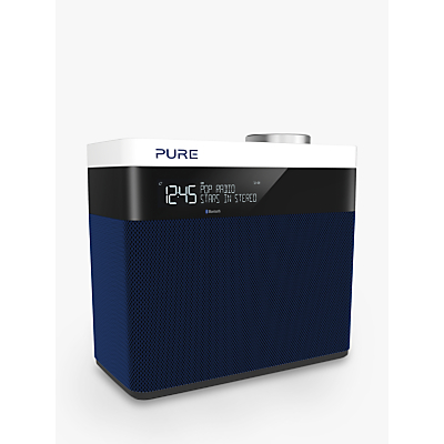 Image of Pure Pop Maxi S Portable Digital DAB/FM Radio with Bluetooth, Navy