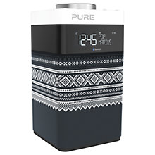 Buy Pure Pop Midi DAB/FM Bluetooth Portable Digital Radio, Marius Edition, Grey Online at johnlewis.com
