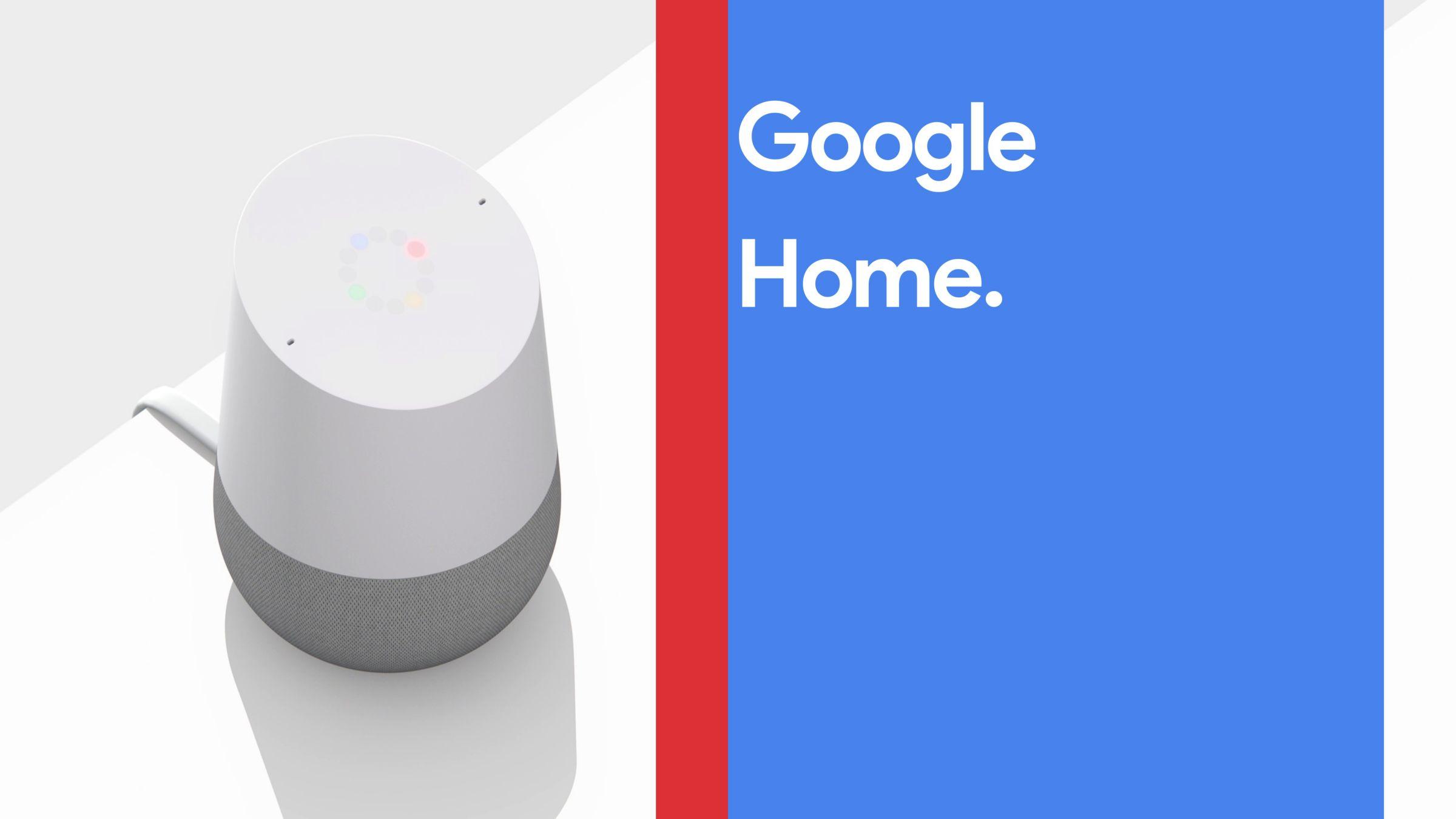 Google Home Mini Hands-Free Smart Speaker, Chalk