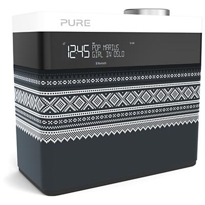 Image of Pure Pop Maxi Portable Digital DAB/FM Radio with Bluetooth, Marius Edition, Grey