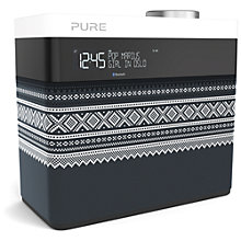 Buy Pure Pop Maxi Portable Digital DAB/FM Radio with Bluetooth, Marius Edition, Grey Online at johnlewis.com