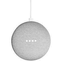 Buy Google Home Mini Hands-Free Smart Speaker Online at johnlewis.com
