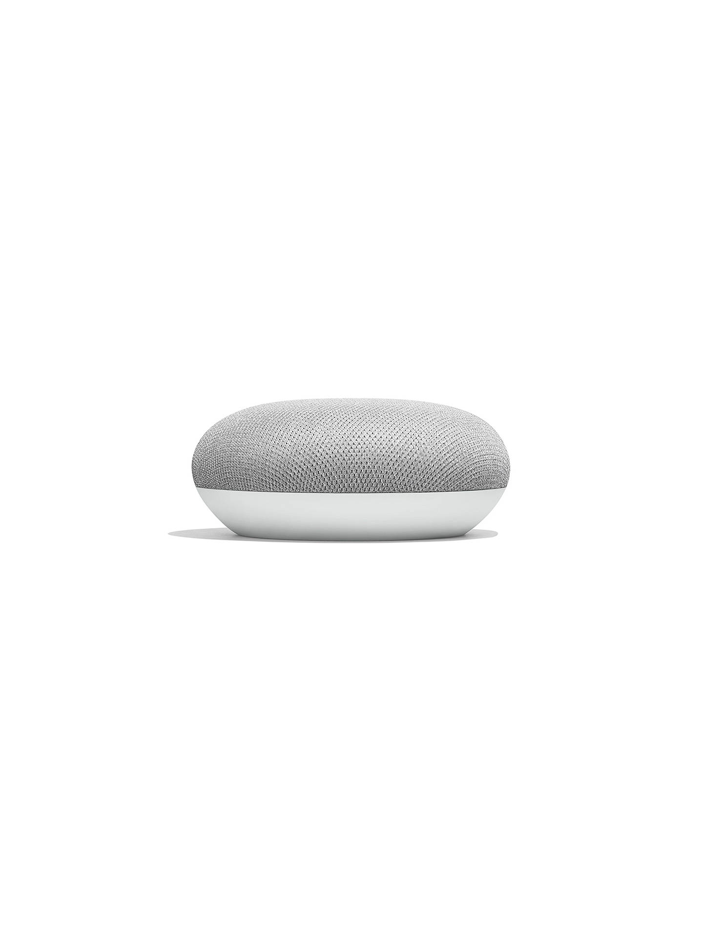 BuyGoogle Home Mini Hands-Free Smart Speaker, Chalk Online at johnlewis.com