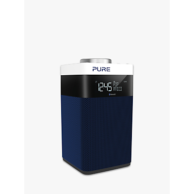 Image of Pure Pop Midi S DAB/FM Bluetooth Portable Digital Radio, Navy