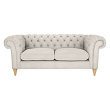 Buy John Lewis Cromwell Chesterfield Large 3 Seater Sofa, Light Leg Online at johnlewis.com