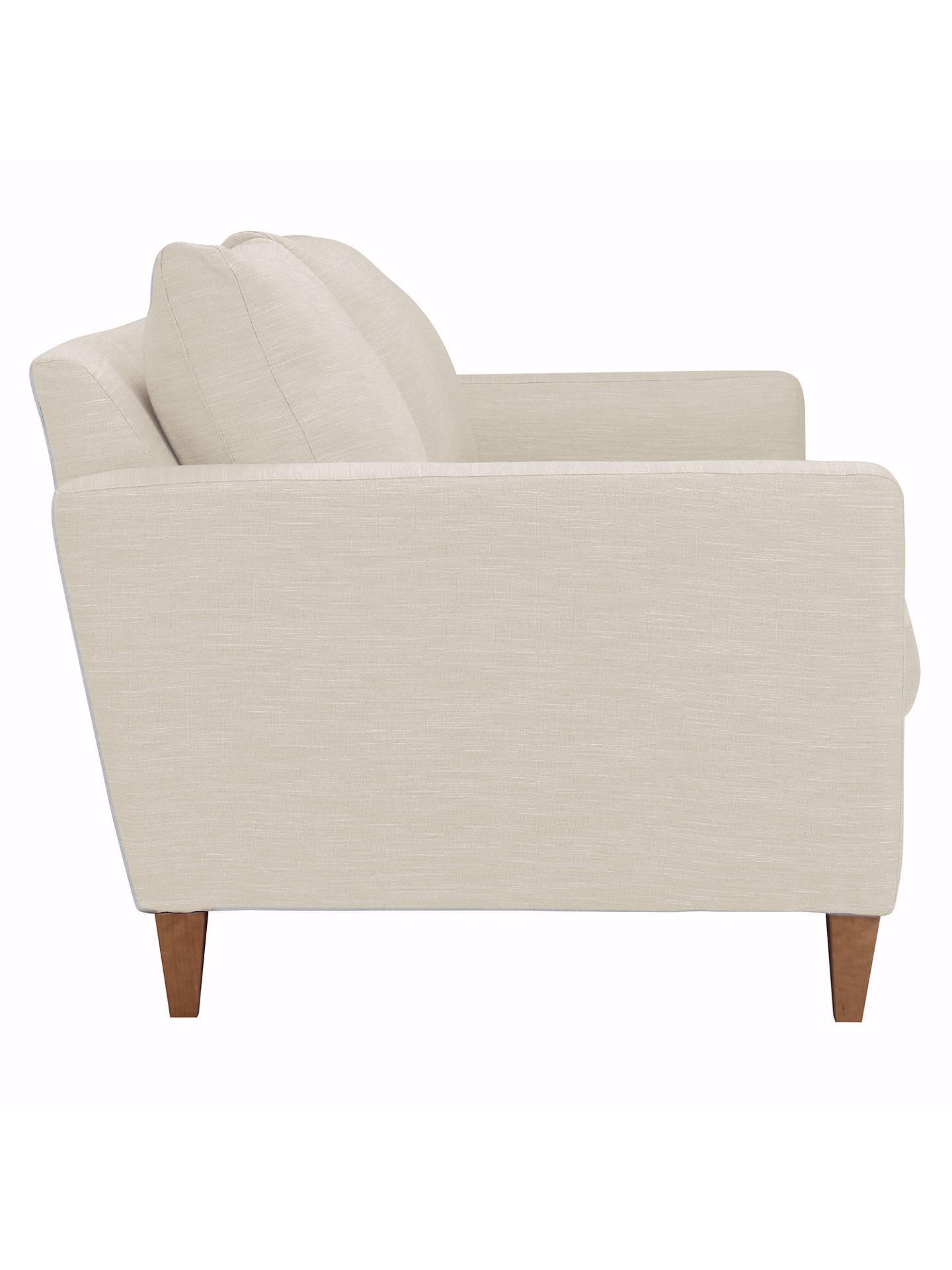 John Lewis Bailey Loose Cover Medium 2 Seater Sofa Light Leg