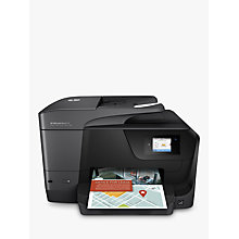 Buy HP OfficeJet Pro 8715 All-in-One Wireless Printer & Fax Machine With Touch Screen, HP Instant Ink Compatible Online at johnlewis.com
