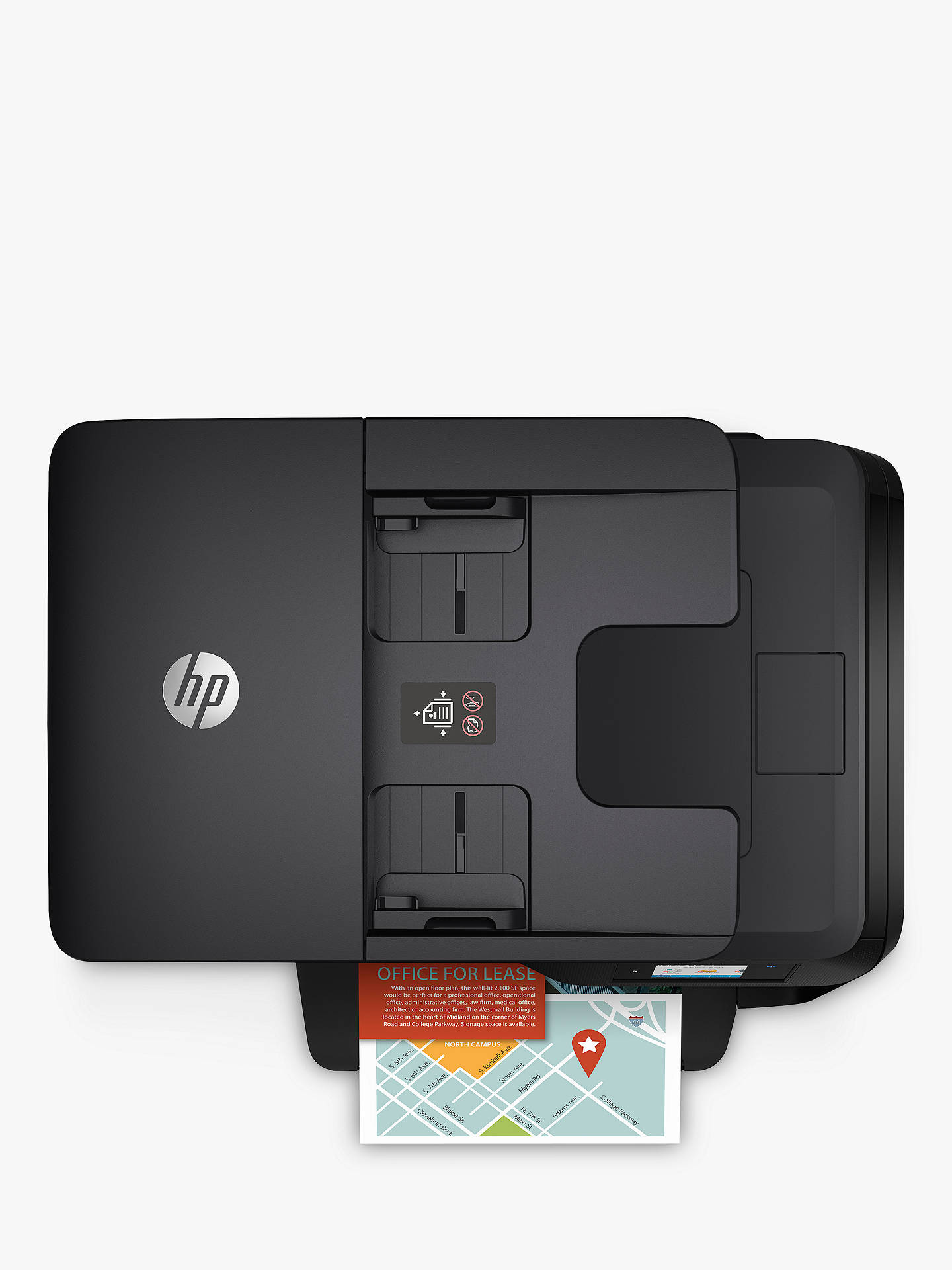 HP OfficeJet Pro 8715 All-in-One Wireless Printer & Fax Machine with Touch  Screen, HP Instant Ink Compatible with 3 Months Trial