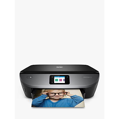 Image of HP ENVY Photo 7130 All-in-One Wireless Printer, HP Instant Ink Compatible with 4 Months Trial, Black
