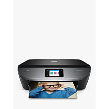 Buy HP ENVY Photo 7130 All-in-One Wireless Printer, HP Instant Ink Compatible with 4 Months Trial, Black Online at johnlewis.com
