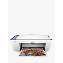Buy HP Deskjet 2630 All-in-One Wireless Wi-Fi Printer, White Online at johnlewis.com