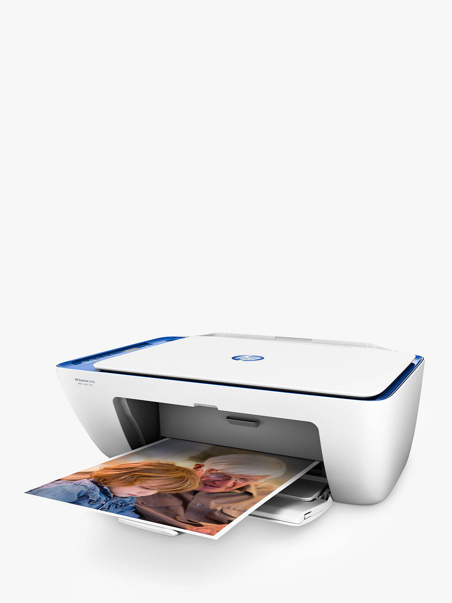HP Deskjet 2630 All-in-One Wireless Printer, HP Instant Ink Compatible with  2 Months Trial, White