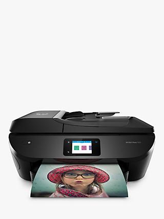 HP ENVY Photo 7830 All-in-One Wireless Printer, HP Instant Ink Compatible with 4 Months Trial, Black