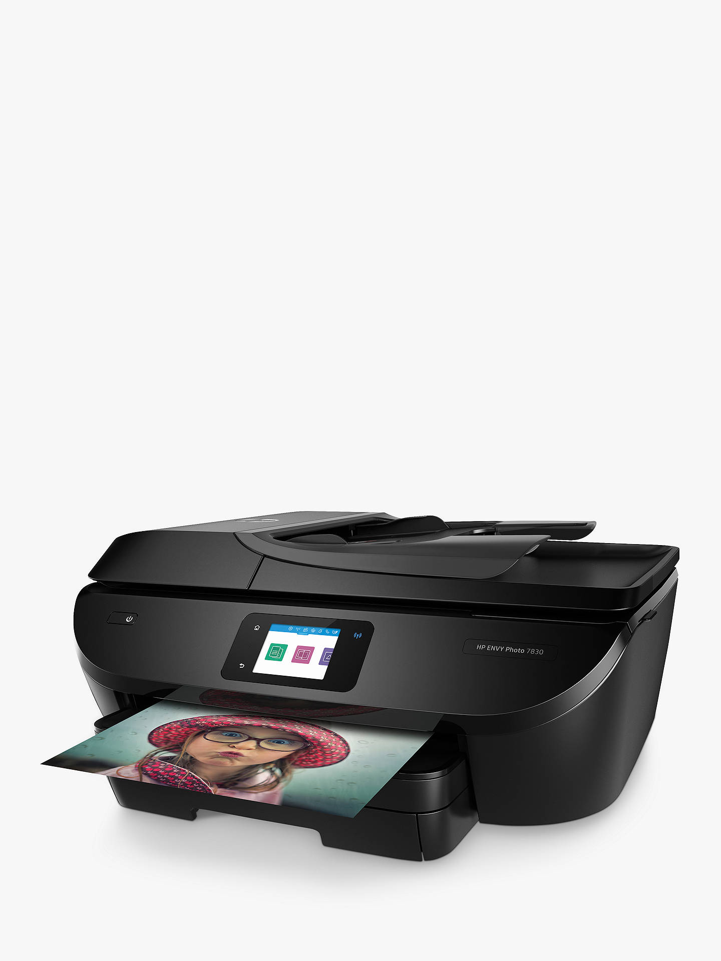 BuyHP ENVY Photo 7830 All-in-One Wireless Printer, HP Instant Ink Compatible with 4 Months Trial, Black Online at johnlewis.com
