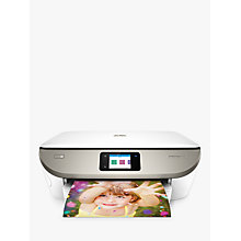 Buy HP Envy Photo 7134 All-in-One Wireless Printer, HP Instant Ink Compatible, White Online at johnlewis.com