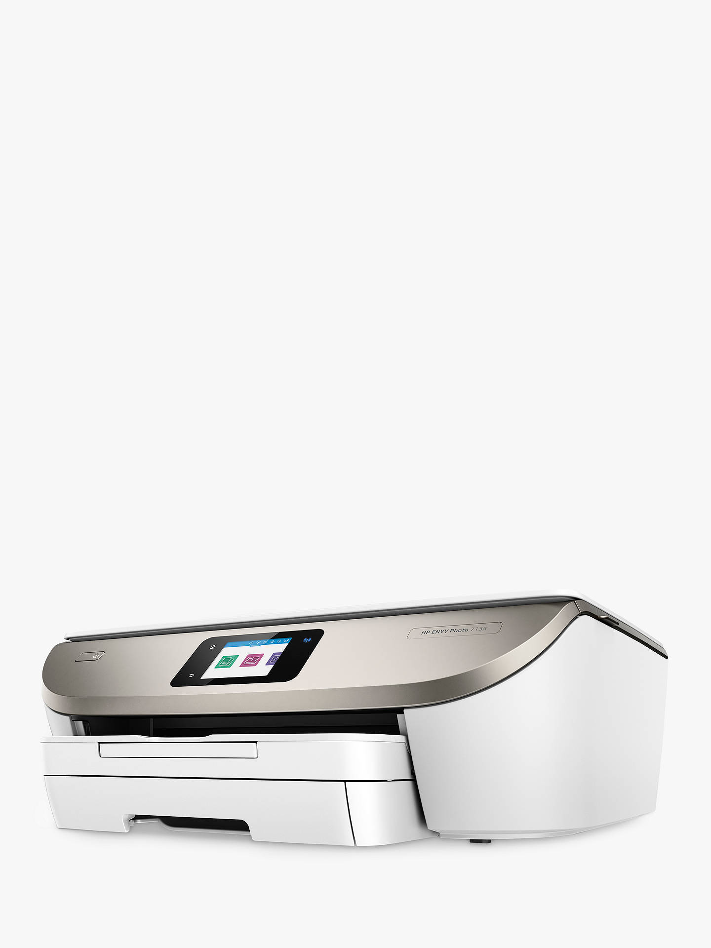 HP ENVY Photo 7134 All-in-One Wireless Printer, HP Instant Ink Compatible  with 5 Months Trial, White