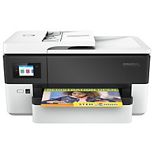 Buy HP OfficeJet Pro 7720 Wide Format All-in-One Printer, White Online at johnlewis.com