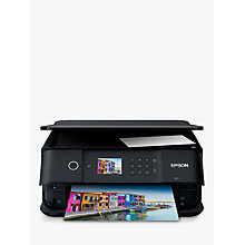 Buy Epson Expression Premium XP-6000 Wi-Fi All-In-One Printer, Black Online at johnlewis.com