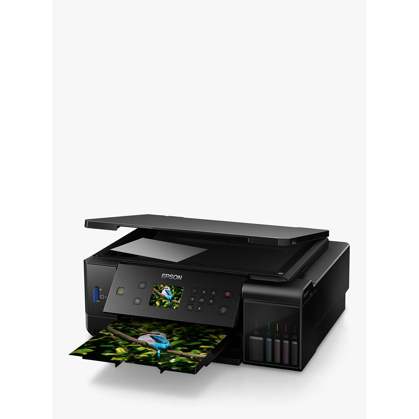 BuyEpson Ecotank ET-7700 Three-In-One Wi-Fi Printer with High Capacity Integrated Ink Tank System & 2 Years Ink Supply Included Online at johnlewis.com