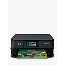 Buy Epson Expression Photo XP-8500 All-in-One Wireless Printer, Black Online at johnlewis.com