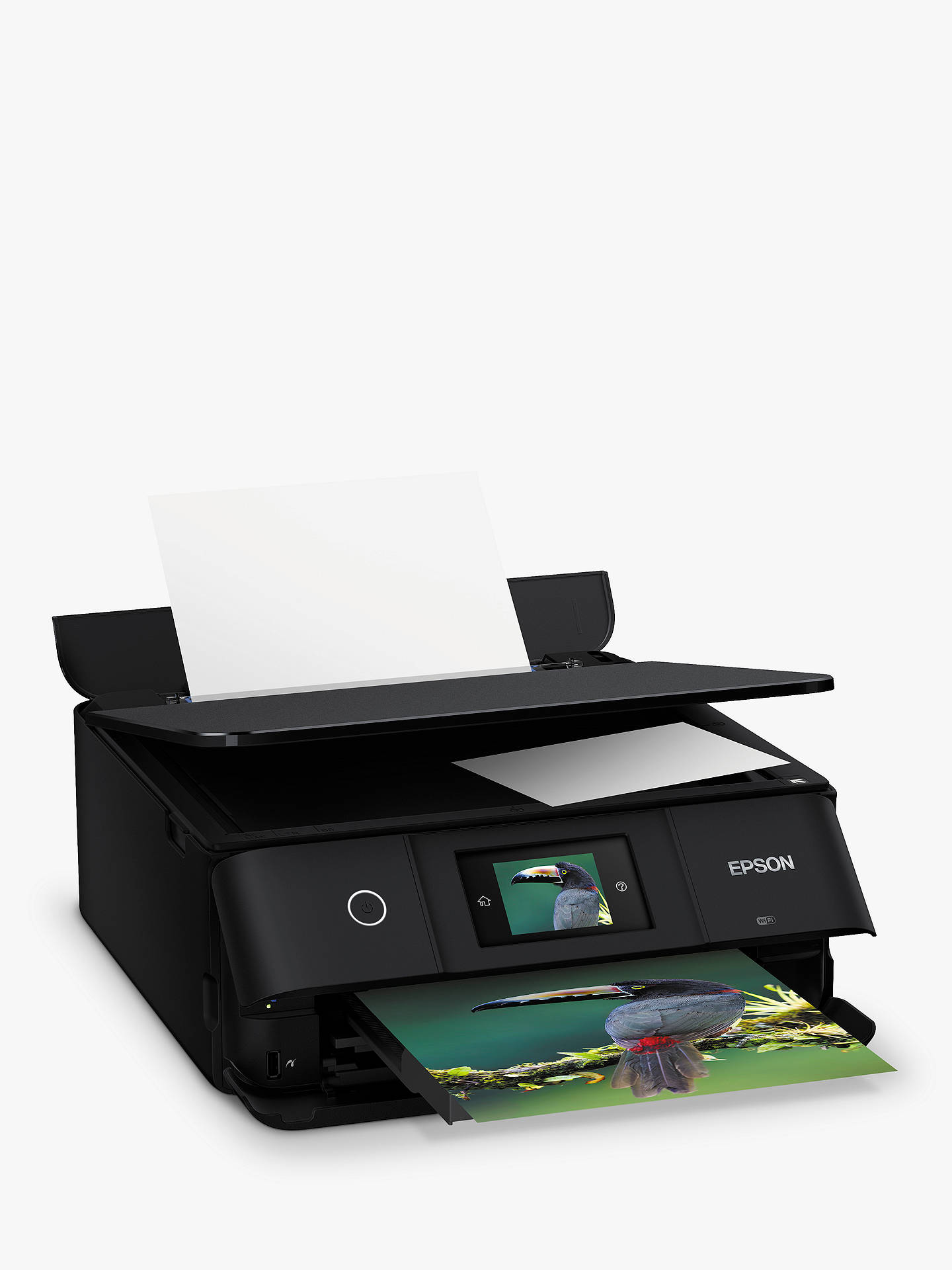 Epson Expression Photo XP-8500 All-in-One Wireless Printer, Black