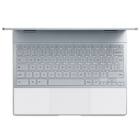 "Buy Google Pixelbook, Intel Core i5, 8GB RAM, 256GB SSD, 12.3"" Quad HD Touchscreen, Rock Candy Online at johnlewis.com"