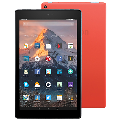 Image of New Amazon Fire HD 10 Tablet with Alexa Hands-Free, Quad-core, Fire OS, 10.1 Full HD, Wi-Fi, 32GB, with Special Offers